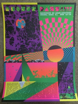 Picture of Desert Daze 2017 poster by Kii Arens