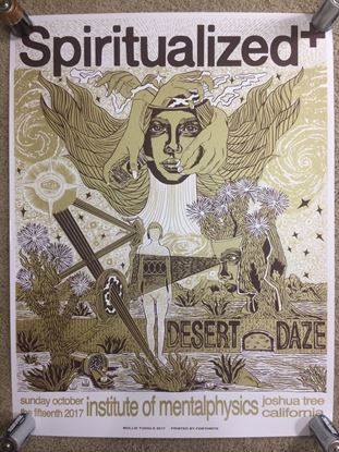 Picture of Spiritualized Desert Daze Poster designed by Mollie Tuggle