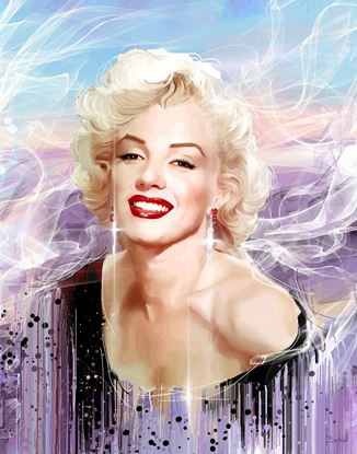 图片 Marilyn in purple