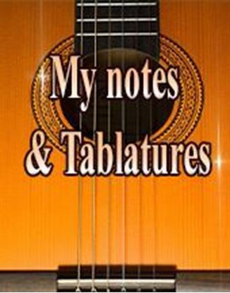 Foto de Notes and Tablatures information