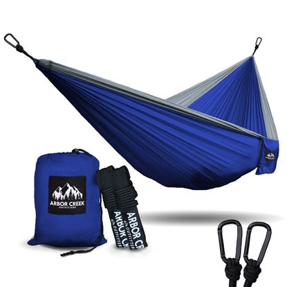 图片 Arbor Creek Double Camping Hammock