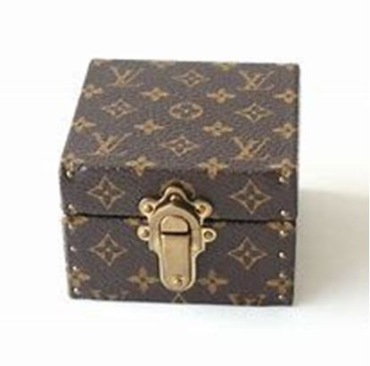 图片 Louis Vuitton Monogram Mini Jewelry Holder Coffret