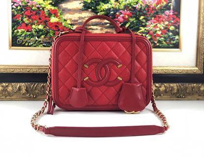 图片 Chanel Filigree Vanity Case