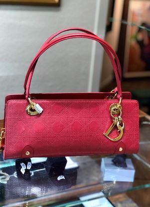 图片 Christian Dior Cannage East West Lady Dior