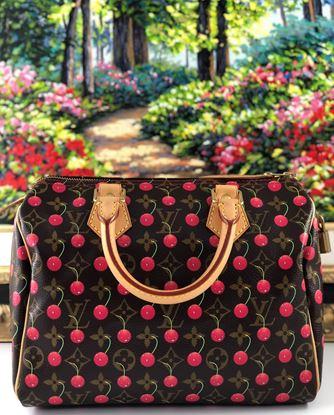 图片 Louis Vuitton Monogram Cerises Speedy 25