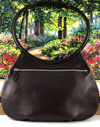 Picture of Hermes Cacahuete Chocolate Brown