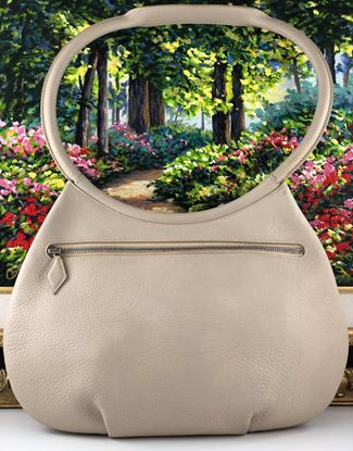 Picture of Hermes Cacahuete Togo Beige