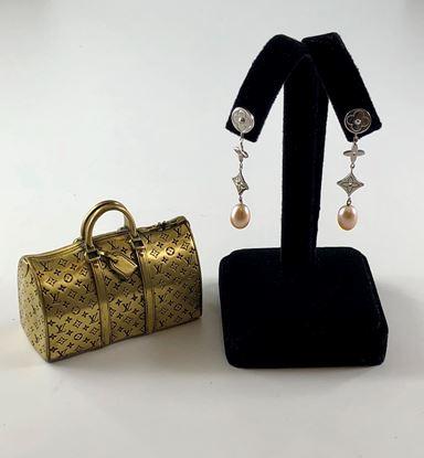 图片 Louis Vuitton Pearl Idylle Blossom Earrings