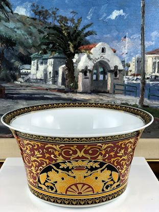 "Picture of Versace ""Medusa"" Red Vegetable Bowl"