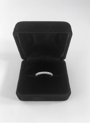 Picture of DeBeers Micro Pave Darling Diamond Ring