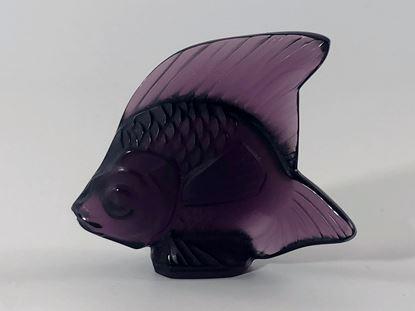 图片 Lalique Colored Crystal Fish