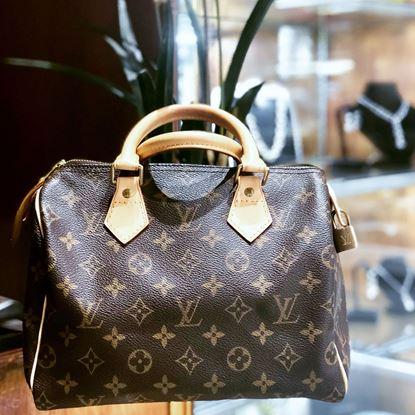 图片 Louis Vuitton Monogram Speedy 25