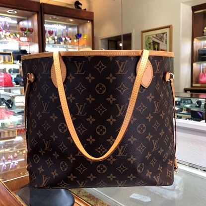 Picture of Louis Vuitton Monogram Neverfull Mm