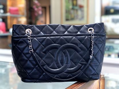 Picture of Chanel Quilted CC Timeless Tote