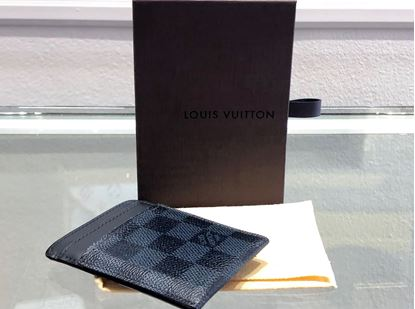 Picture of Louis Vuitton Damier Cobalt Card Holder