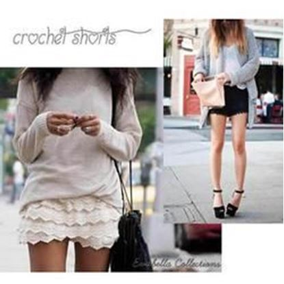 Picture of Crochet Shorts get into the summer fun ware