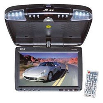 "Image de  8.5"" Flip Down Monitor & DVD player with Wireless FM Modulator/ IR Transmitter"