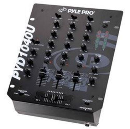 Picture of 10'' 3-Channel Professional Mixer with USB