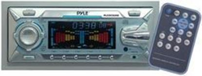 Image de 1 1/2 Din Din AM/FM Cassette & CD Player w/Motorized Slide Down Face