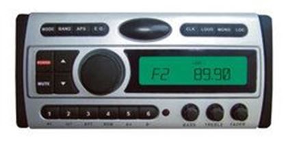 Image de 1.5-Din AM/FM Receiver / CD/CDR/MP3/AM-FM Marine Grade Player