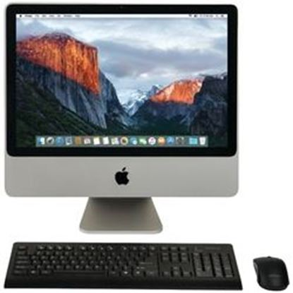 "Picture of Apple MB324LL/A/C2D/2.66/4GB/250GB/10.11 Certified Preloved 320GB 20"" iMac Desktop Computer"