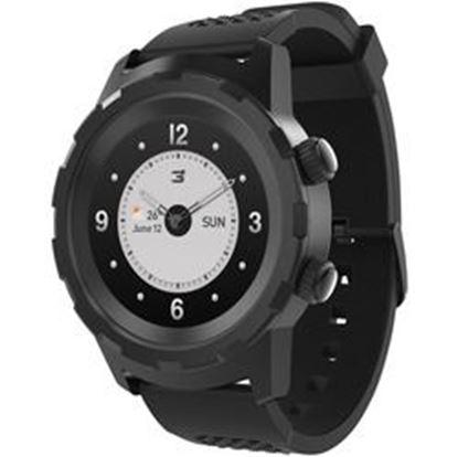 Foto de 3Plus(R) 3PL-HYBRID-BK Cruz Hybrid Watch