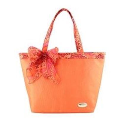 Picture of Jacki Design Summer Bliss Beach Tote Bag, Orange