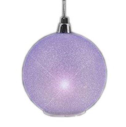 图片 2.5'' Glitter Value Light Hanging Christmas Ornament