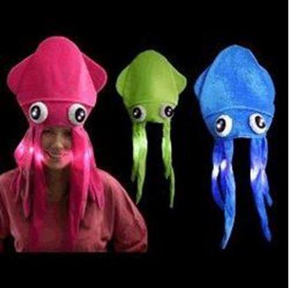 图片 1 Dozen Assorted LED Under the Sea Squid Hat