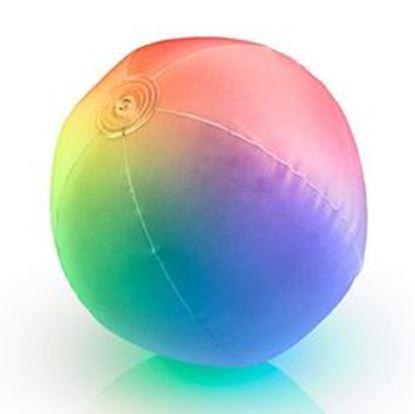 图片 32 Inch Multicolored Inflatable Light Up Beach Ball