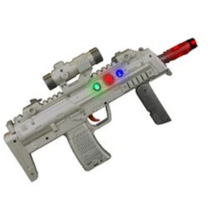 图片 13 Inch Light Up High Technology Rifle With Sound Effects