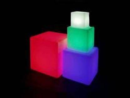 图片 12 Inch LED Color Changing Cube Light Table Furniture