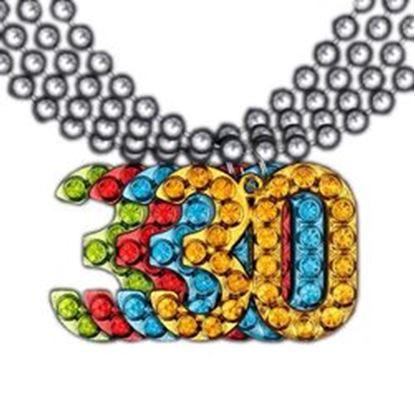 图片 30 Charm on Beads Happy Birthday Bead Necklace Assorted Pack of 12 Unlit