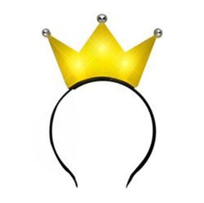 图片 3 Jeweled Yellow Princess Crown Headbands