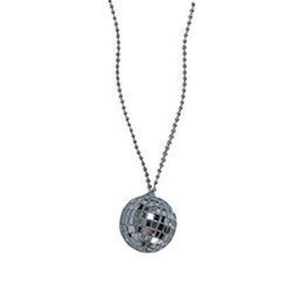 图片 2 Inch Disco Ball Necklace