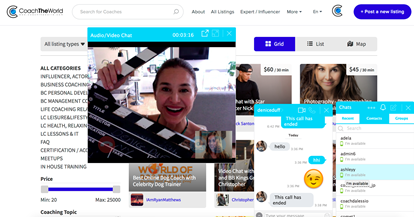 Online Meet and Great Tool for Influencers and Stars