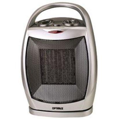 Image de Optimus Portable Oscillating Ceramic Heater with Thermostat