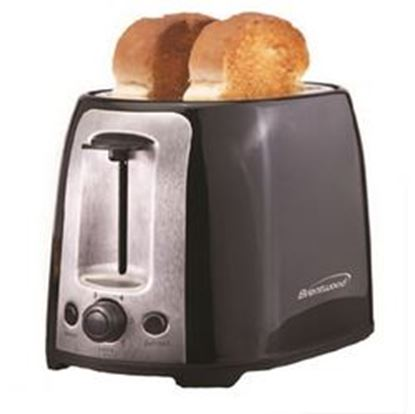 Image de Brentwood  2 Slice Cool Touch Toaster ; Black and Stainless Steel