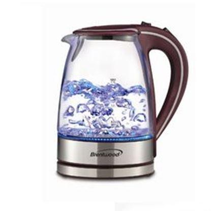 Image de Brentwood Tempered Glass Tea Kettles, 1.7-Liter, Purple