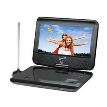 """Image de Supersonic SC-259 9"""" TFT Portable DVD/CD/MP3 Player with TV Tuner, USB & SD Card Slot"""