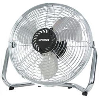Image de Optimus 12 in. Industrial Grade High Velocity Fan with Chrome Grill