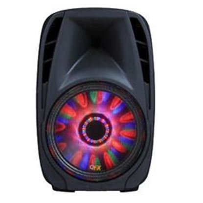 """Image de QFX 10"""" Battery Powered Portable Party Speaker With Bletooth/USB/SD/FM Player, RGB LED Moonlight With ON/OFF Switch"""