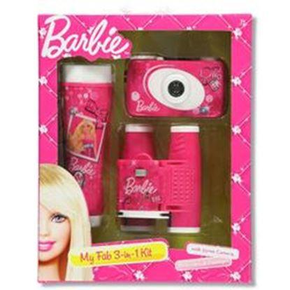 Image de Barbie My Fab 3-Piece Adventure Kit with Camera, Flashlight, and Binocular