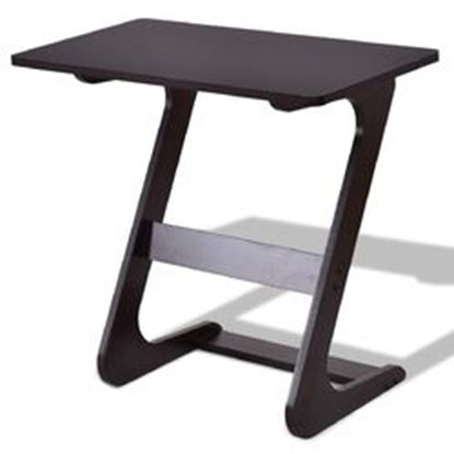 Picture of Z-Shape Console Coffee Tray Laptop End Sid Table
