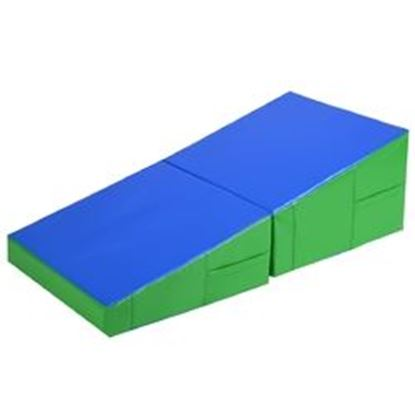 "Picture of  48"" x 24"" x 14"" Folding Incline Gymnastics Mat"