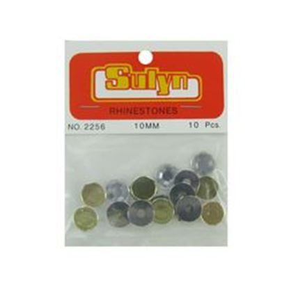 Picture of 10 Pc 10mm Rhinestones (pack of 24)