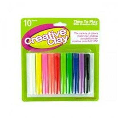 Picture of 10pc Modeling Clay Set (pack of 12)