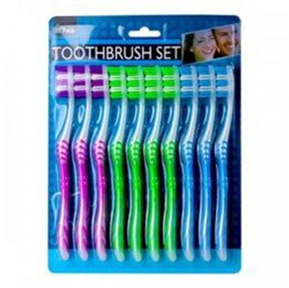 Picture of 10 Pack Toothbrush Set (pack of 6)
