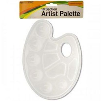 Picture of 10 Section Artist Paint Palette (pack of 20)
