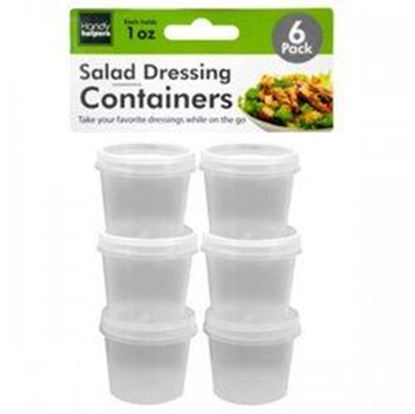 Picture of 1 Oz. Salad Dressing Containers Set (pack of 24)